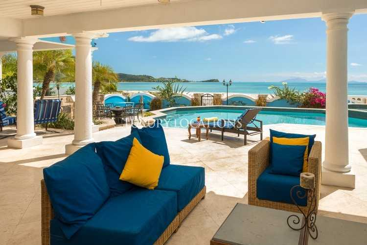 Property to Rent in Villa Sull Oceano, a spacious beachfront villa., Saint Mary, Jolly Harbour, Antigua, Antigua