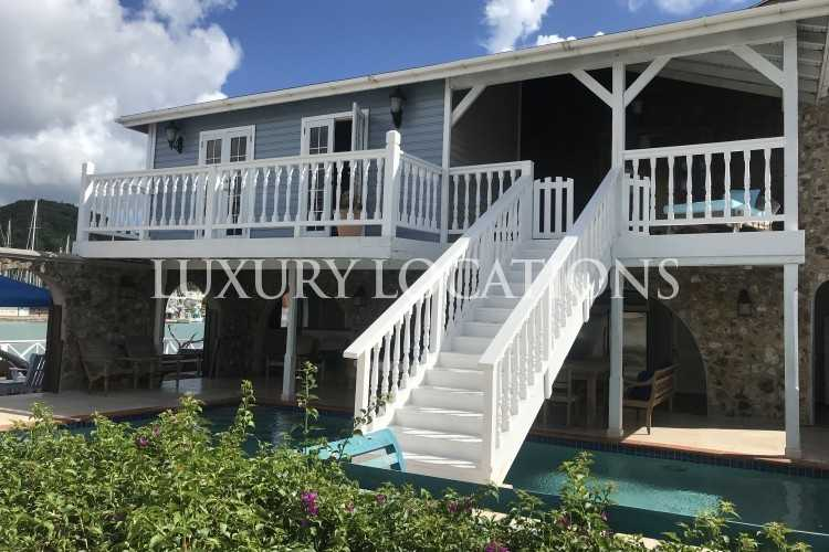 Property to Rent in The Mill House, 4 bedroom waterfront property with pool, Jolly Harbour Area - West Coast, Jolly Harbour, Antigua, Antigua